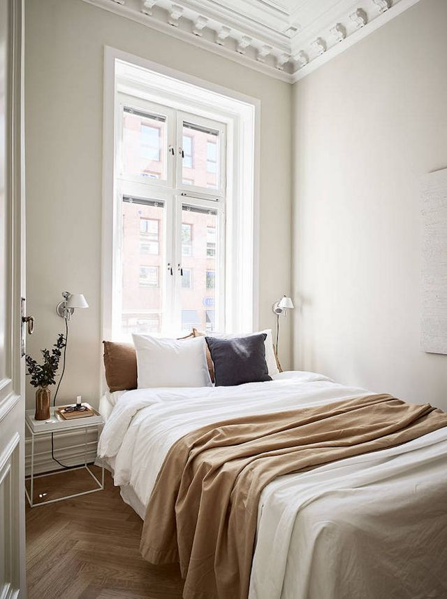A Swedish Small Space in Cream and Caramel Tones (my scandinavian