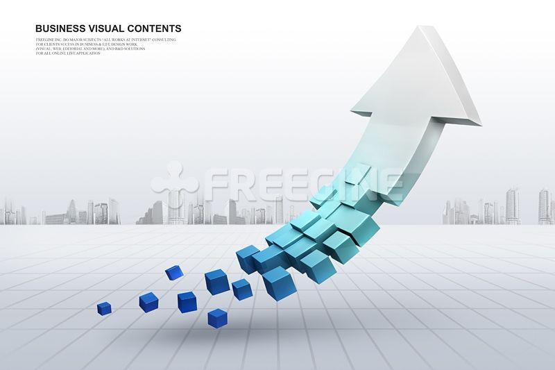 비즈니스, 오브젝트, 그래픽, freegine, business, 성장, 3D, arrow, 화살표, 기호, 상승, 에프지아이, FGI…