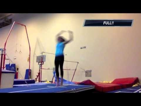So inspiring! | Tumbling | Gymnastics training, Gymnastics