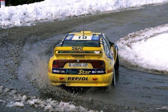 """collaverglas: """"Piero Liatti/Carlo Cassina. SEAT Cordoba WRC. Rally Monte-Carlo 1999. """""""