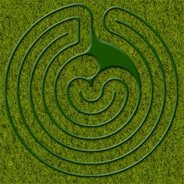 Natural Playgrounds Store -- biodegradable labyrinth template. Cool ...