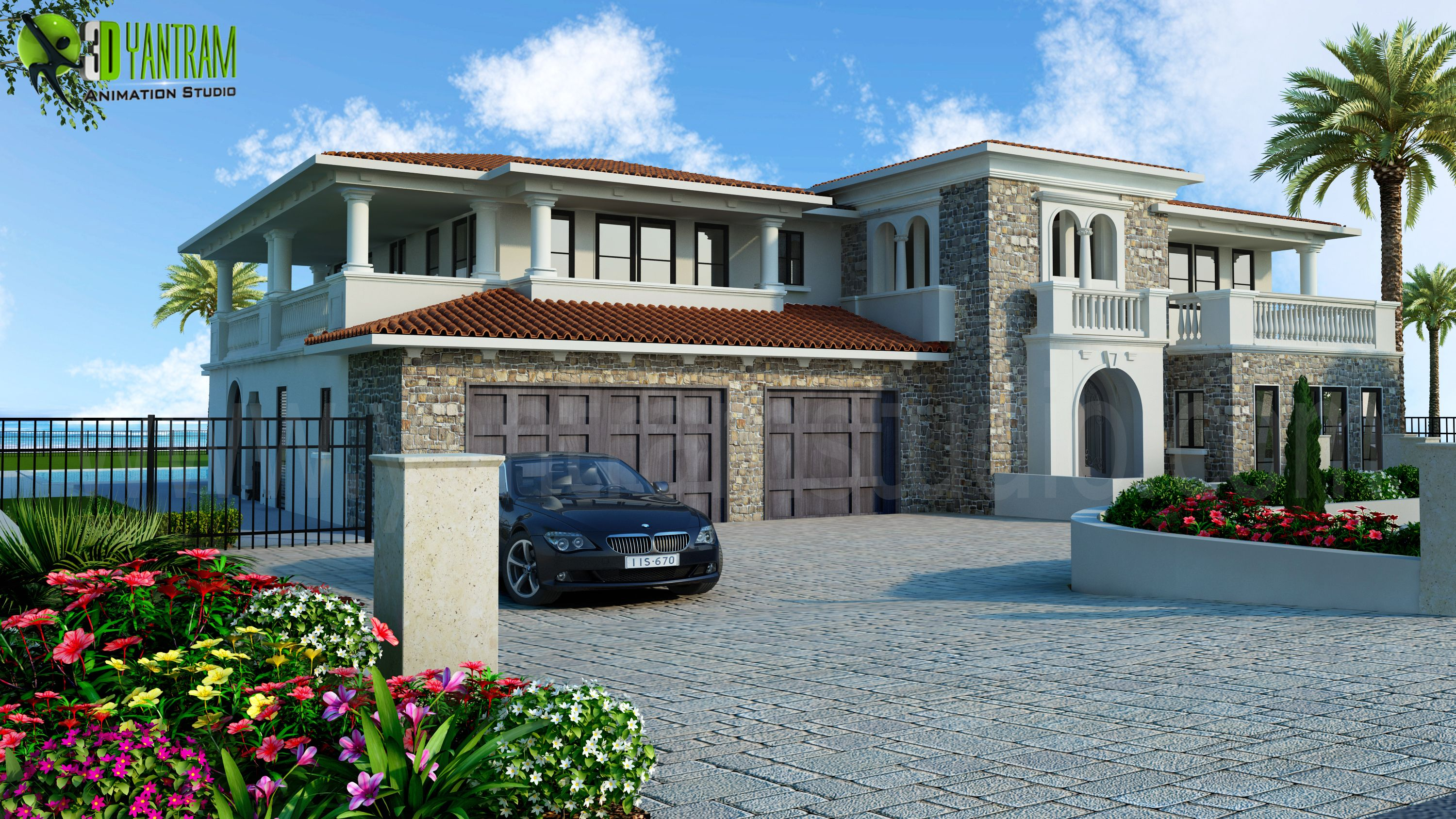 luxurious home exterior design architectural