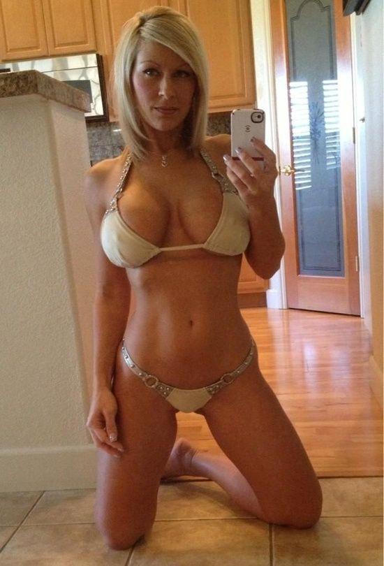 Blonde Milf Selfie