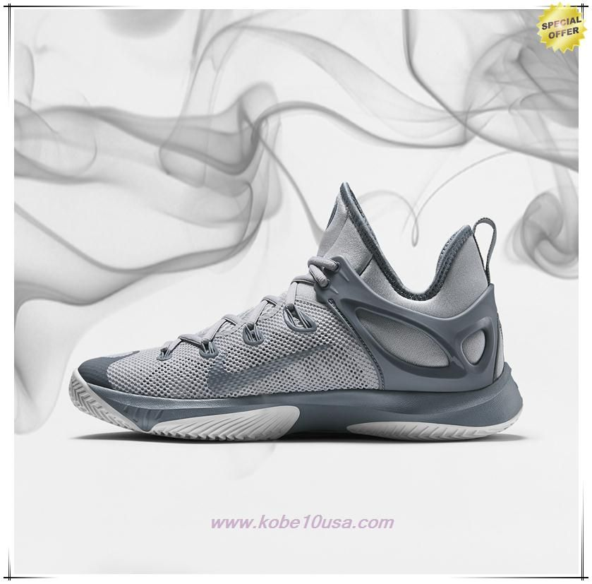 watch 1b49c a8e8c Fast Shipping To Buy Wolf Grey Pure Platinum Blue Graphite 705370-040 Nike  Zoom Hyperrev 2015