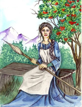 Frigga: Goddess of Hearth and Home in 2019 | Of the Norse | Norse