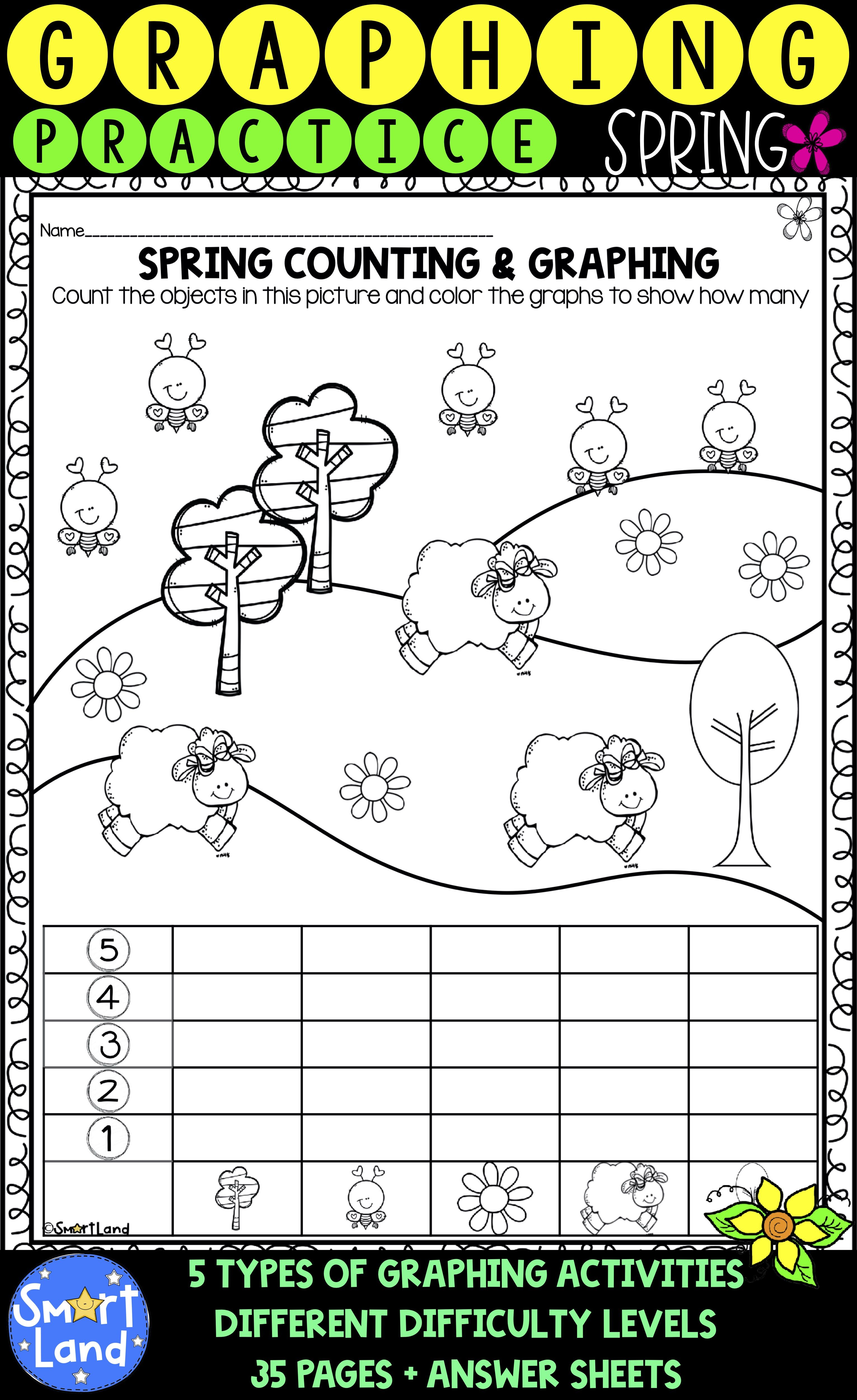 Enjoy 35 Practice Graphing And Counting Practice Pages
