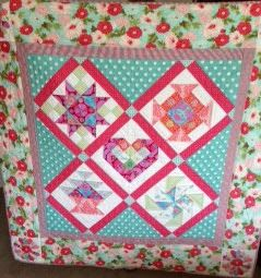 quilt sampler cushion - Google Search