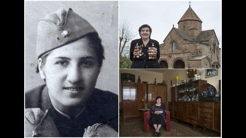 Rozalia Abgaryan, 91 años