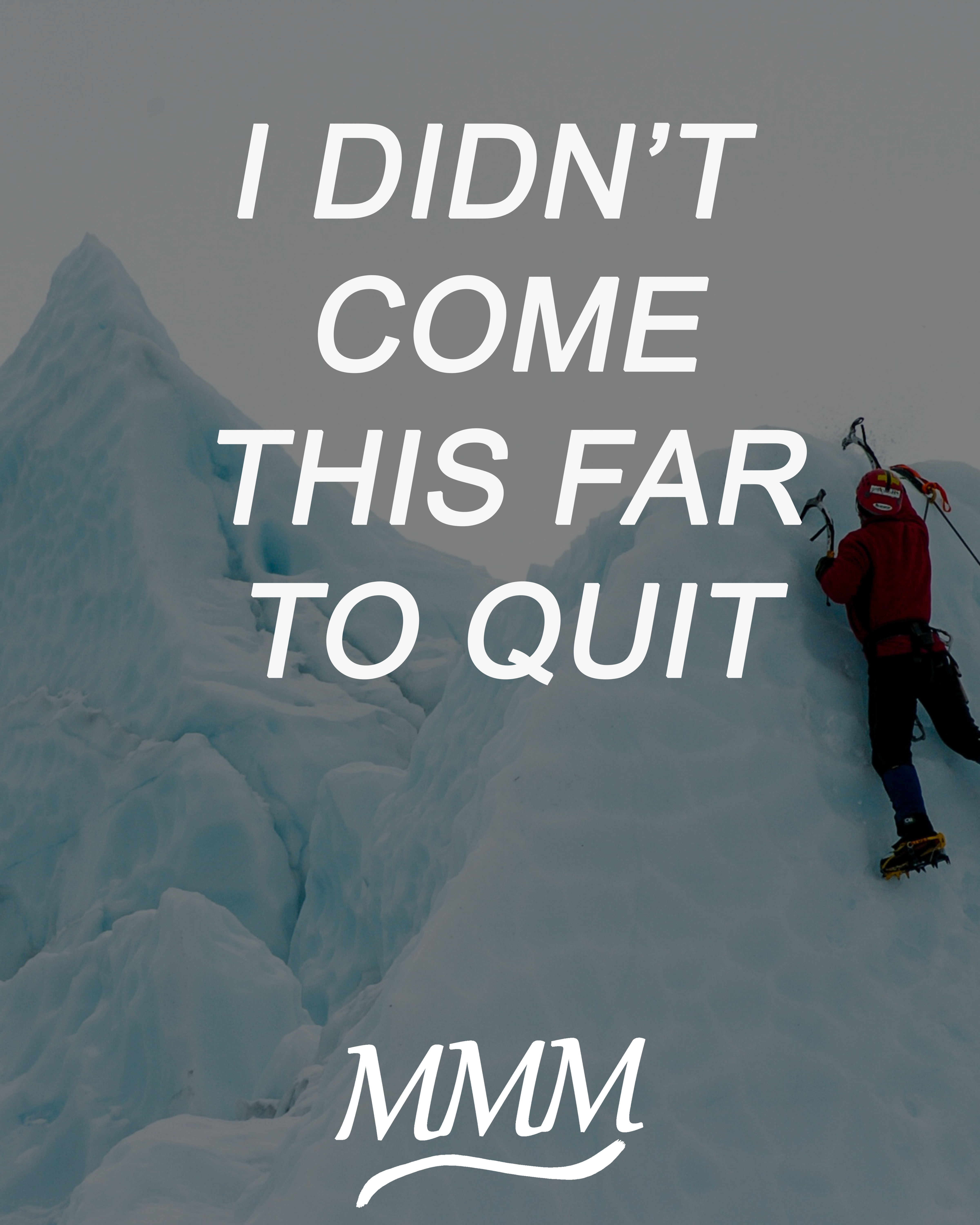 I Didn T Come This Far To Quit The Path To Success Is Hard It Is So Much Easier To Q Motivational Quotes Motivational Quotes For Success Morning Affirmations