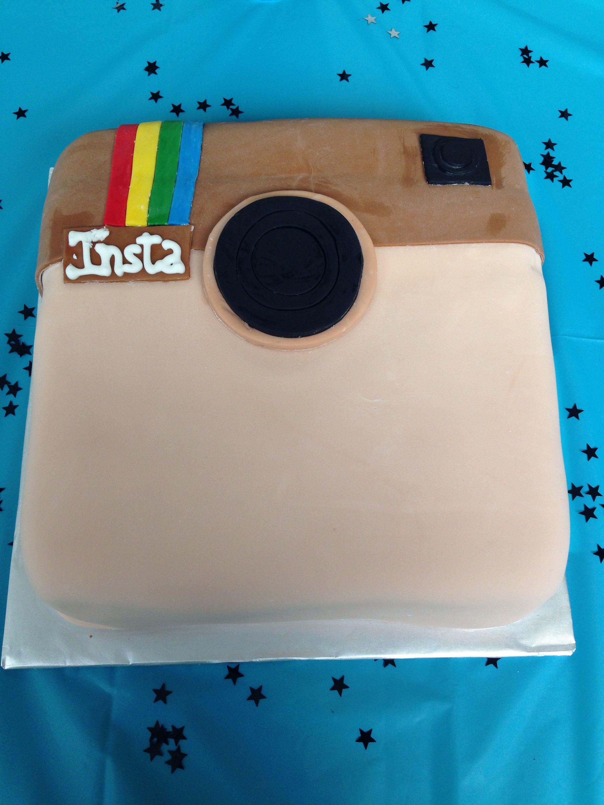 Instagram Birthday Cake #teen #birthday #instagram