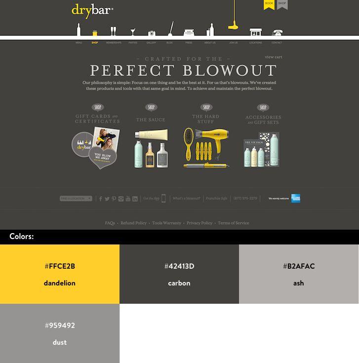 10 Beautiful Ecommerce Website Color Schemes Website Color Schemes Website Color Palette Color Schemes