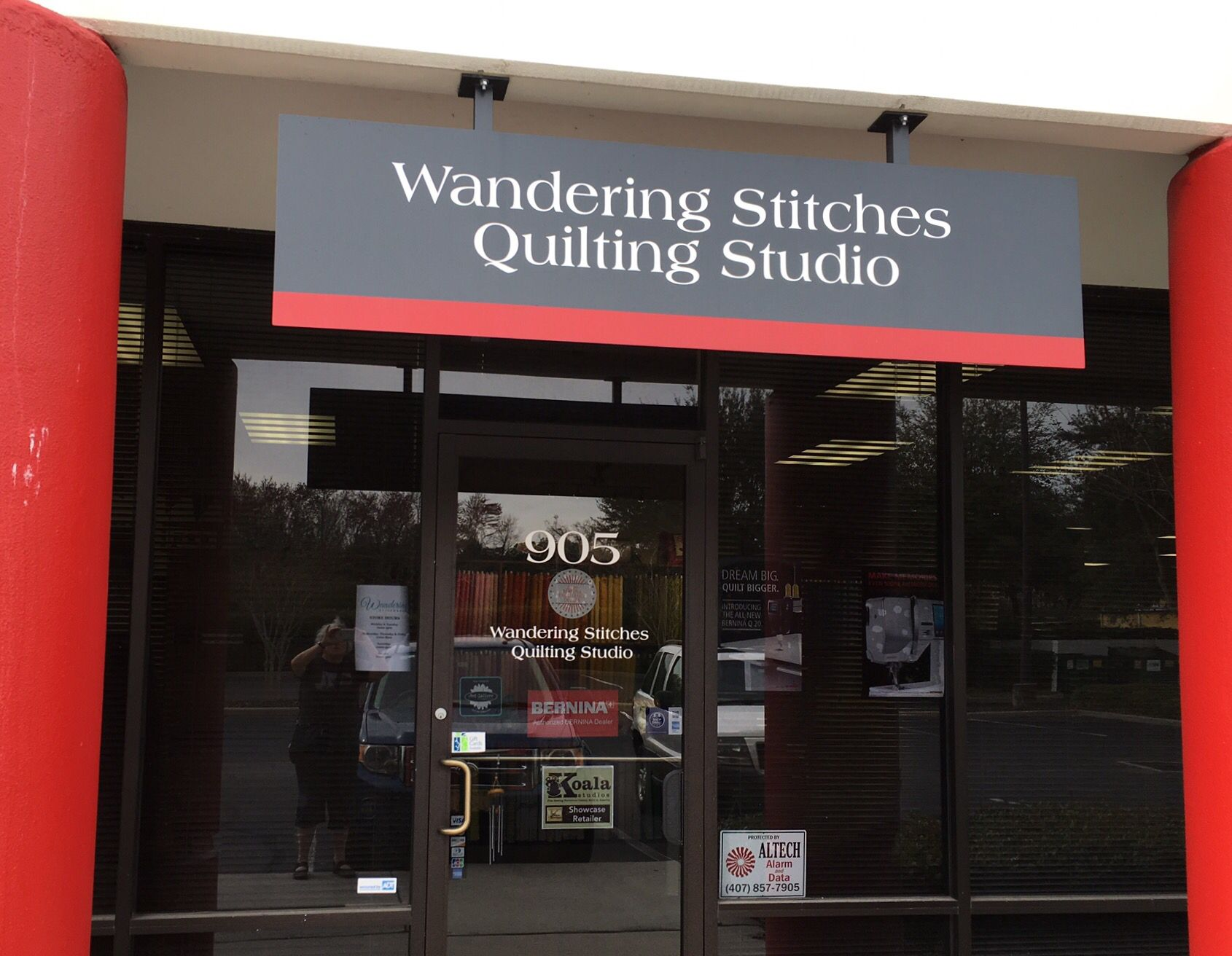 Wandering Stitches, Orlando, FL. Visited 2/15/2016. Helpful staff ... : quilt shops in orlando - Adamdwight.com