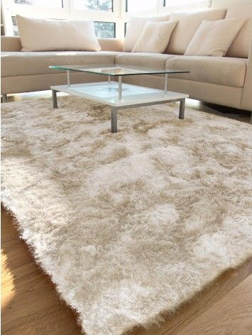 shaggy whisper rug beige tapis salon