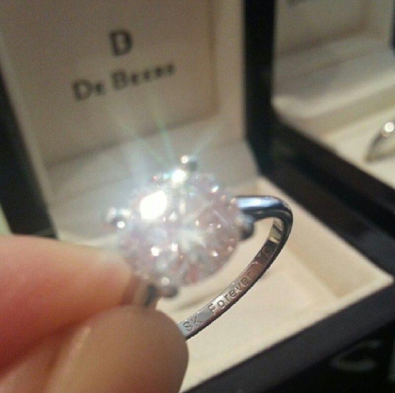 De Beers Diamond Ring Instagram