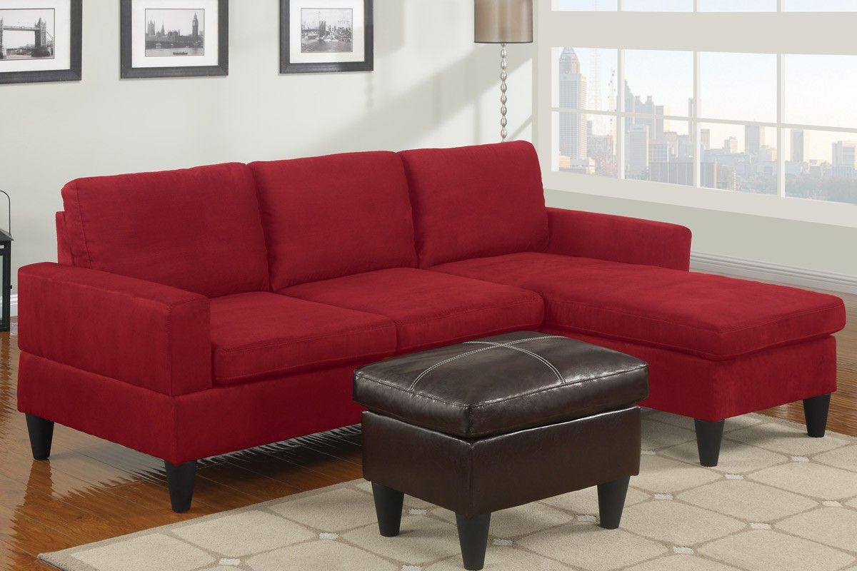 14 Interesting Red Microfiber Sectional Sofa Pic Ideas