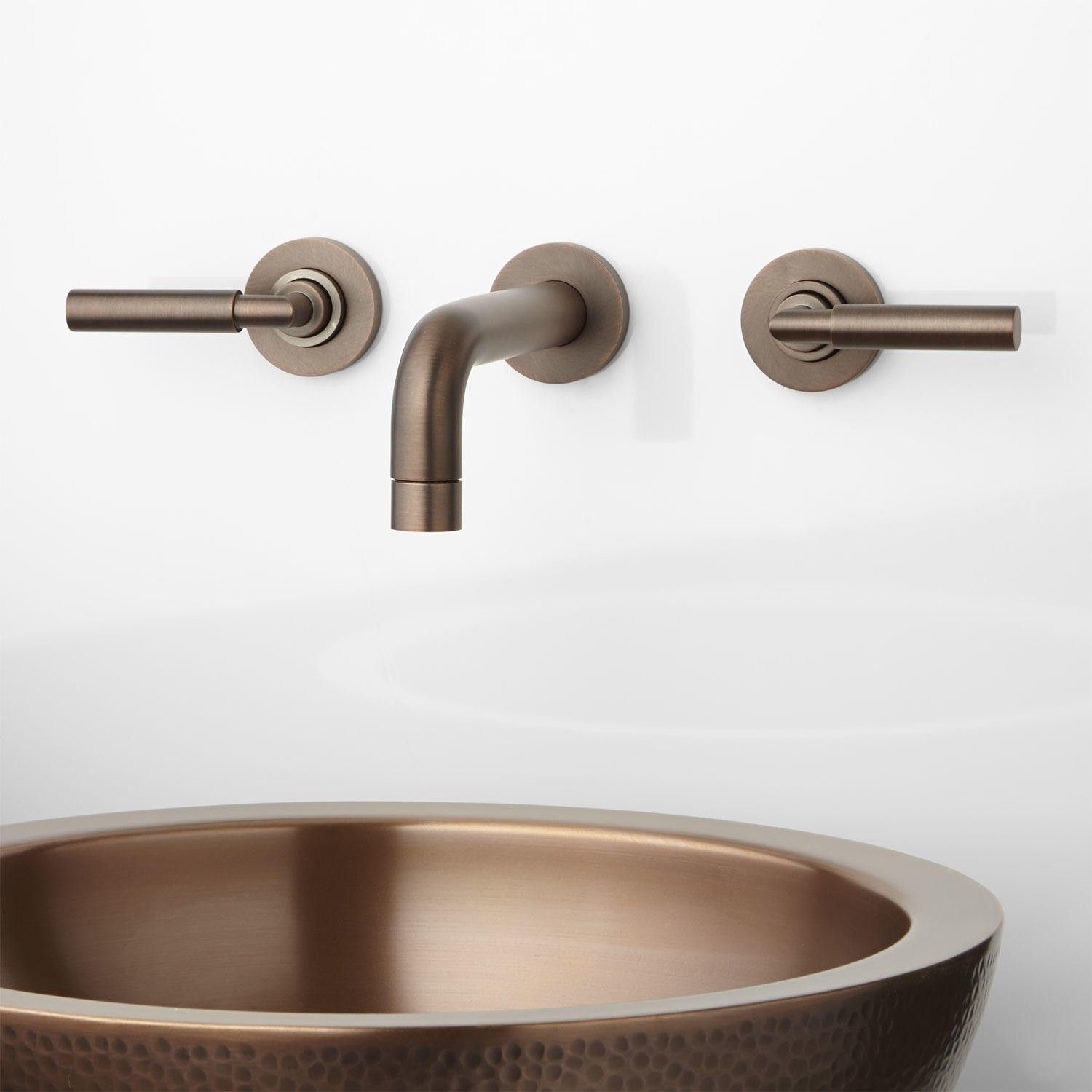 Wall Mounted Bathroom Faucets   http://bottomunion.com   Pinterest ...