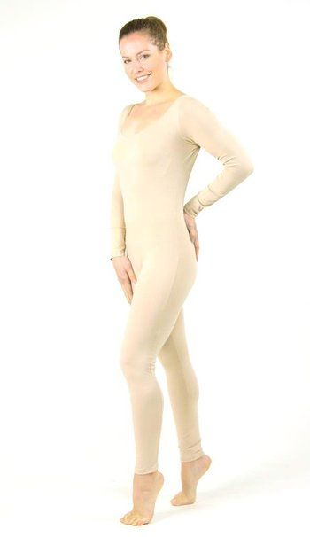 Stretch is Comfort Women's Cotton Long Sleeve Unitard ...