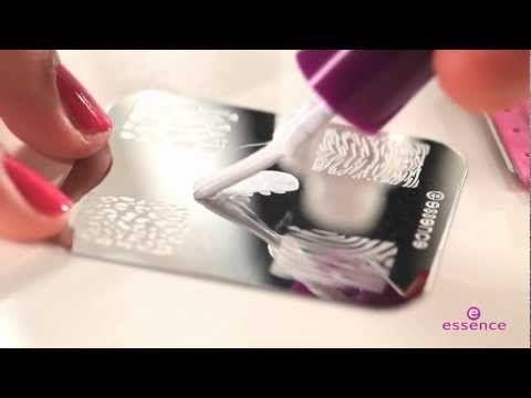 Essence Nail Art Stampy Set Tutorial English Version Show Me