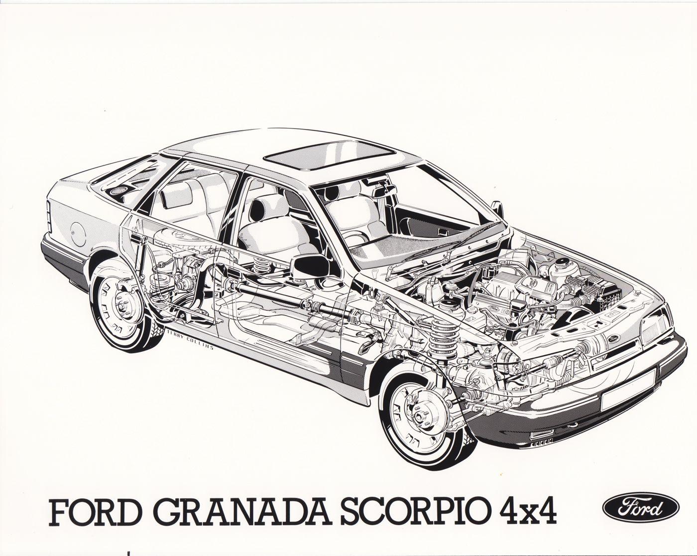 Ford Granada Scorpio 4x4 Uk
