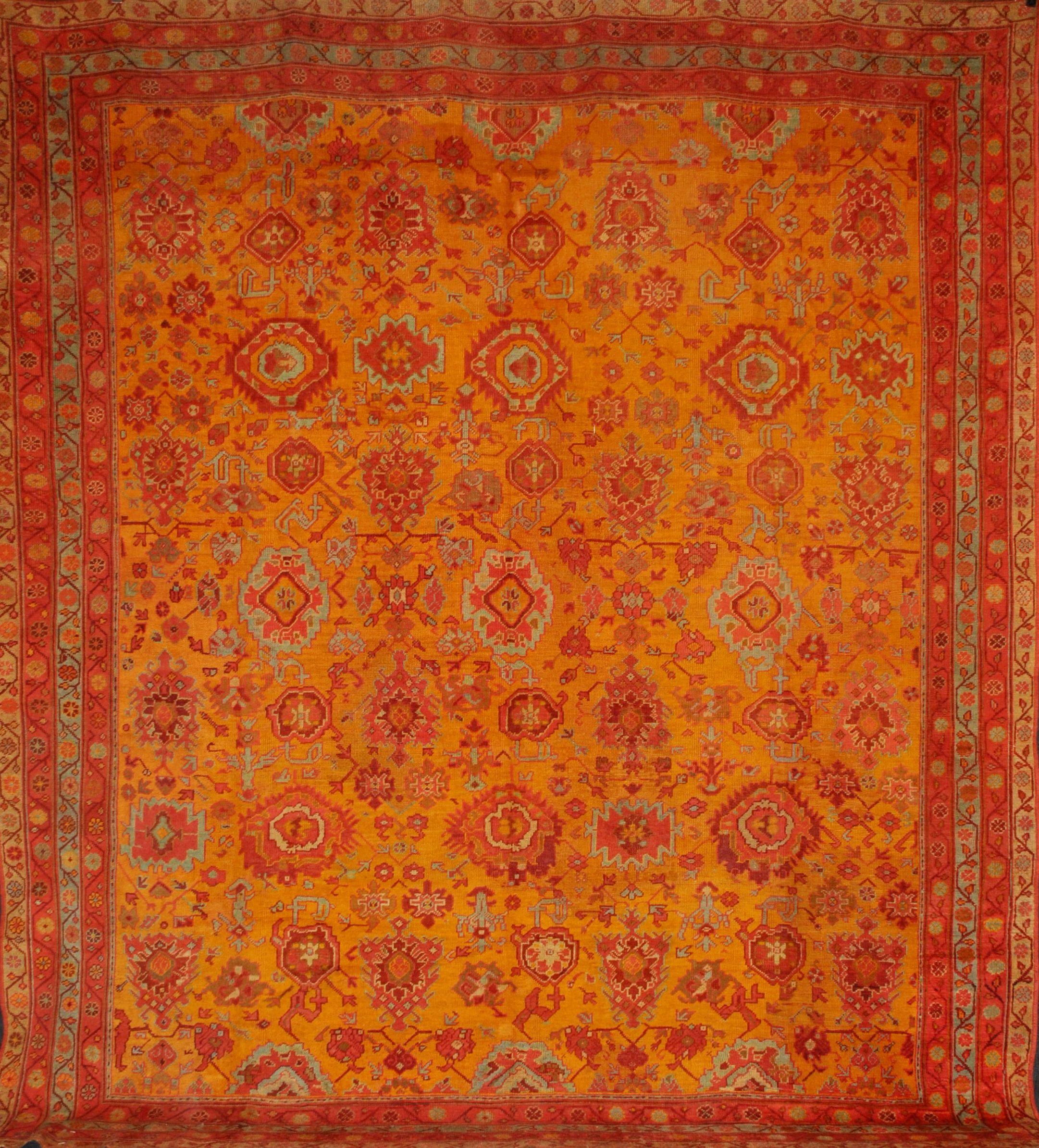 Fr4938 Antique Turkish Oushak Rugs Home D Cor Color Antique Rugs Oushaks