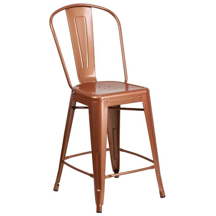 Flash Furniture 24u0027u0027 Bar Stool U0026 Reviews | Wayfair