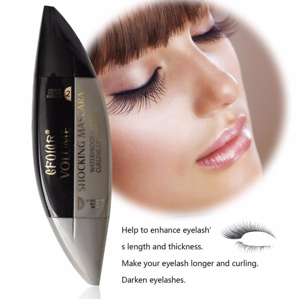 Fiber Mascara Waterproof Eyelashes Mascara Extension Long Lasting