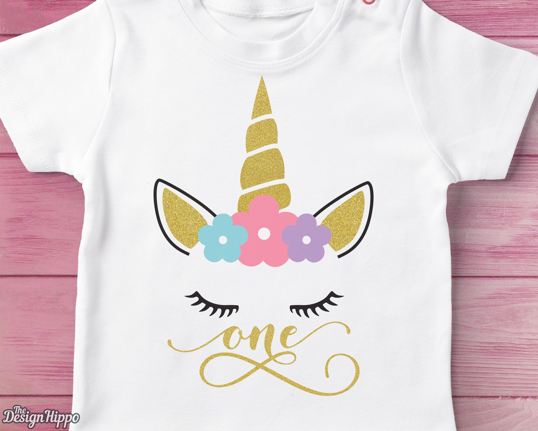One Unicorn svg, Birthday svg, Unicorn Birthday svg, 1st