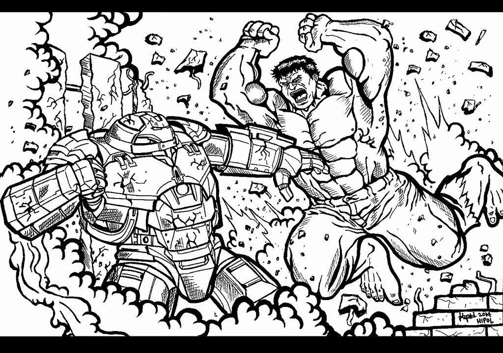 Hulk Buster Coloring Page Fresh Ironman Hulk Buster Free