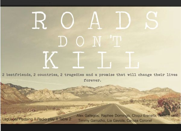 """""""Roads Dont Kill"""" by alexiaysabel on Polyvore"""