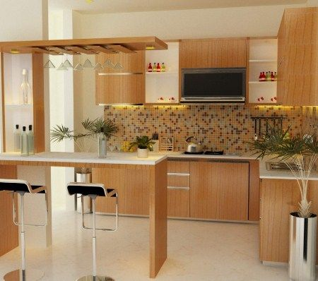 Model Kitchen Set Aluminium Modern Minimalis 9 Dapur Pinterest
