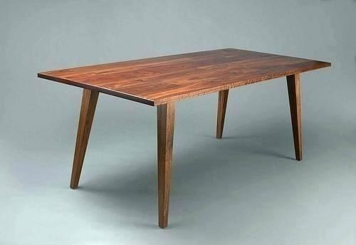 Diy Contemporary Dining Table Mid Century Modern Dining Table