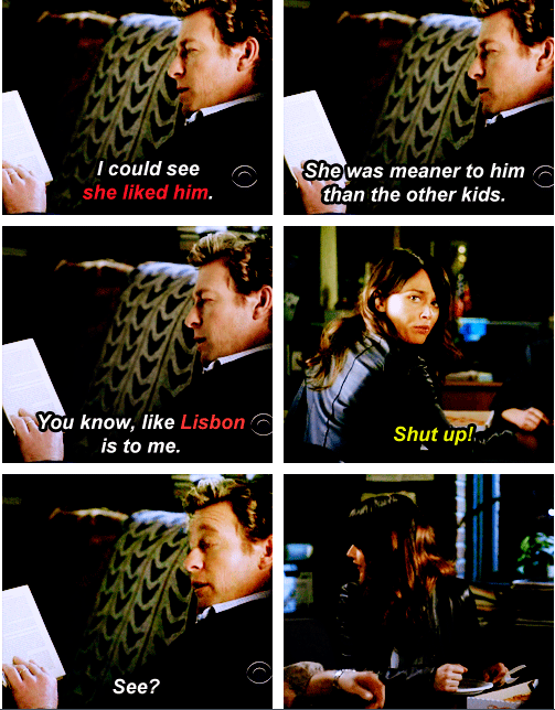 I Love This Part So Much Explains Jisbon In One Scene Ship It