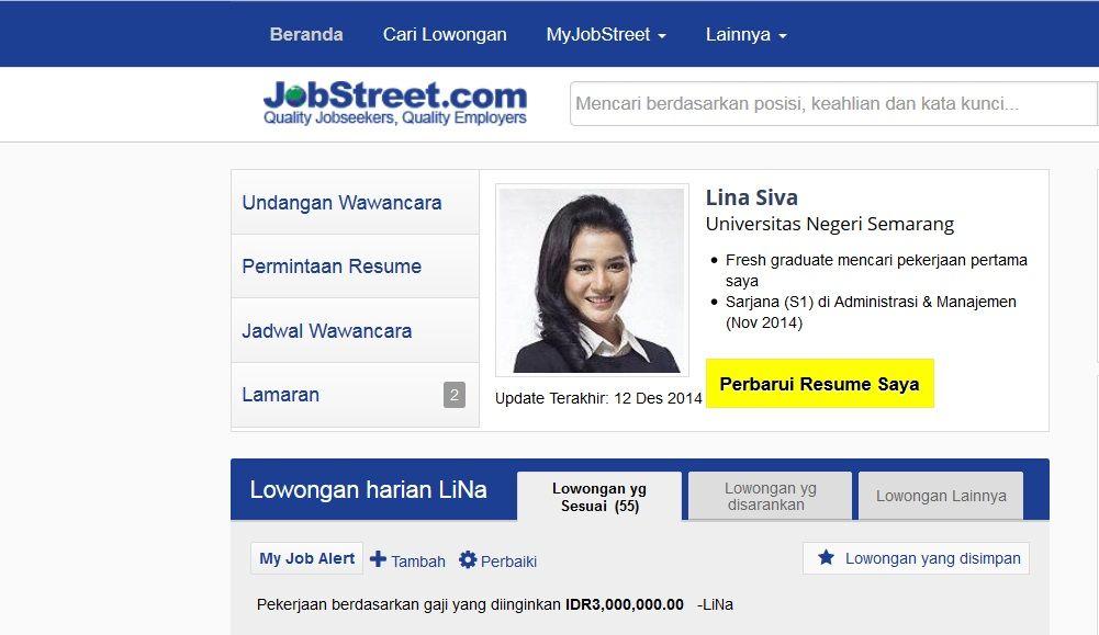 Surat Lamaran Kerja Jobstreet Ben Jobs Contoh Lamaran Kerja Dan Cv