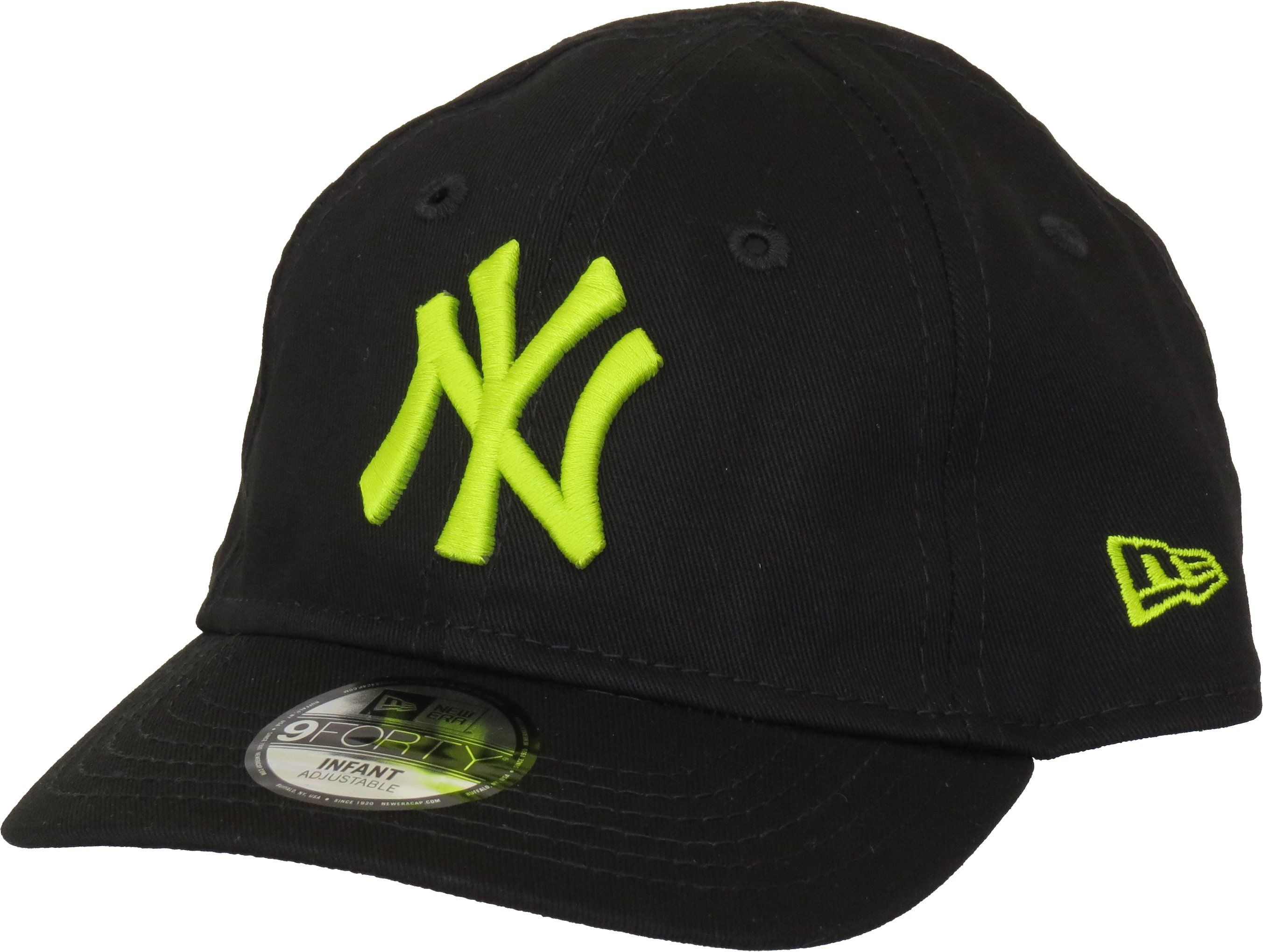 newest 5a2be f6e1d NY Yankees New Era 940 Stretch Fit Infants Black Cap (0-2 years)