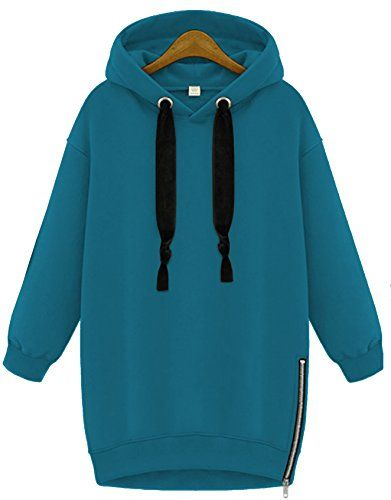 Zarlena Damen Hoodie Kapuzenpullover Sweatshirt