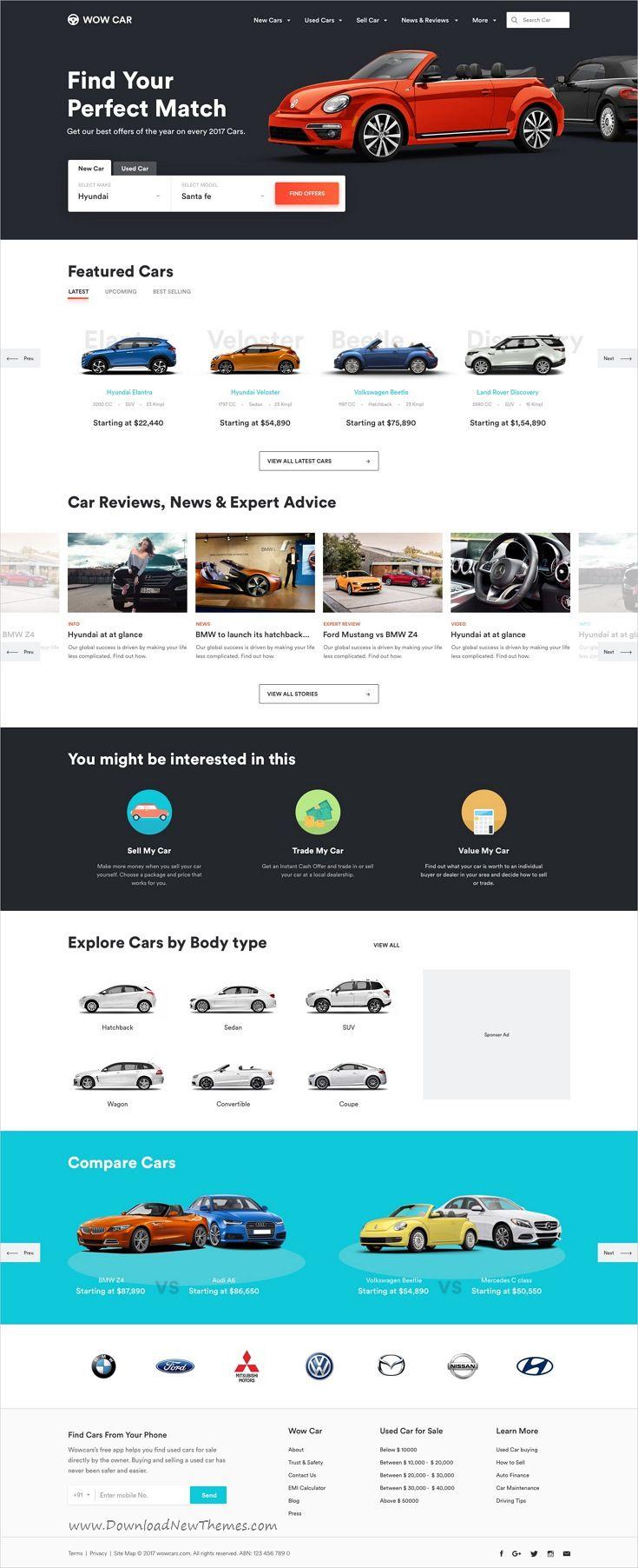 Multi Categories Web Design Template For Startups Sketch Template Ecommerce Web Design Ecommerce Website Design Web Template Design
