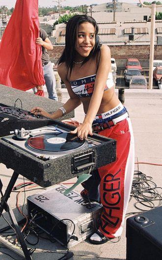 Aaliyah Tommy Hilfiger Shirt Shop For Aaliyah Tommy Hilfiger Aaliyah Style Hip Hop Style Outfits Aaliyah