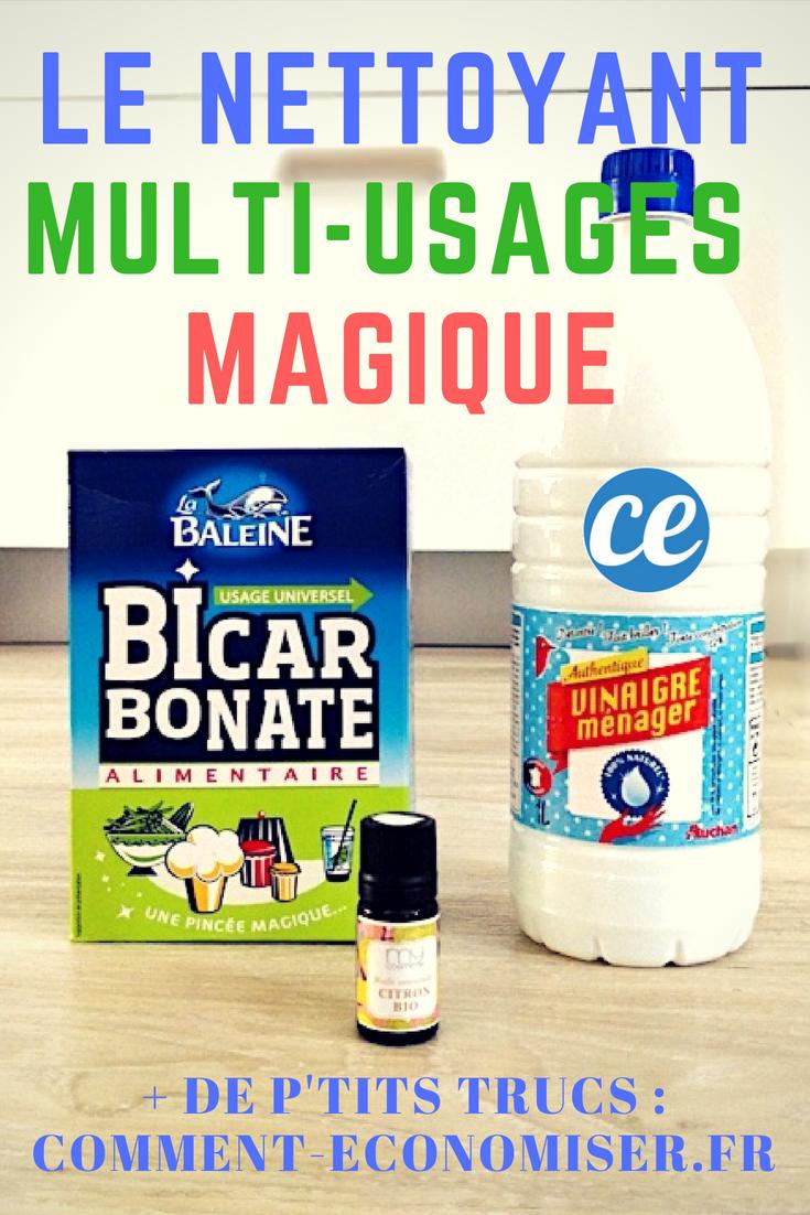 bicarbonate vinaigre blanc le nettoyant multi usage pour une maison nickel chrome