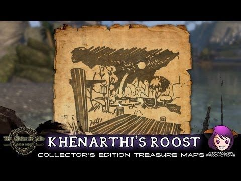Khenarthi\'s Roost CE Treasure Map 1 & 2 | ESO - Treasure Map ...