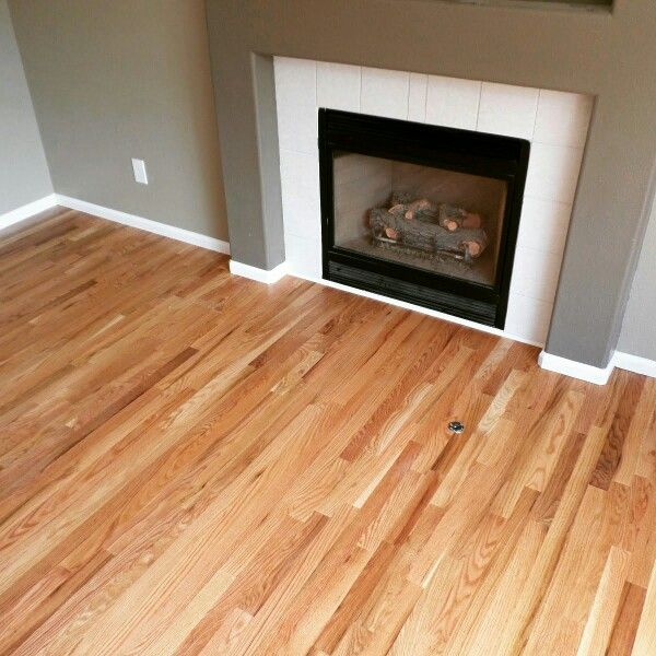 natural red oak pinteres