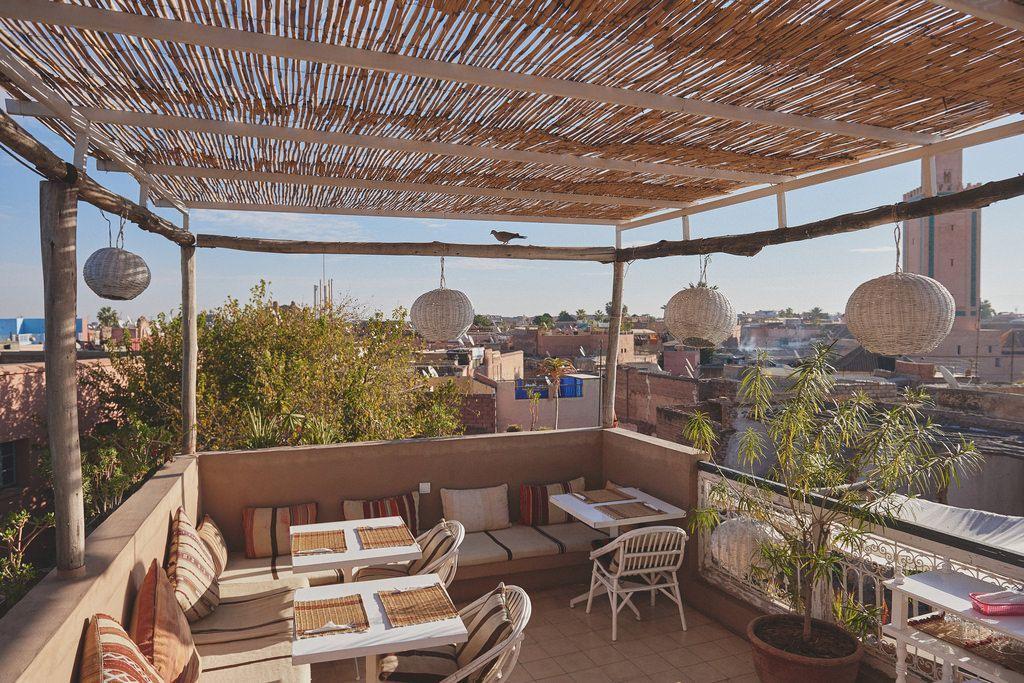 Atay Cafe Marrakech Terrace Design Cafe Design Marrakech