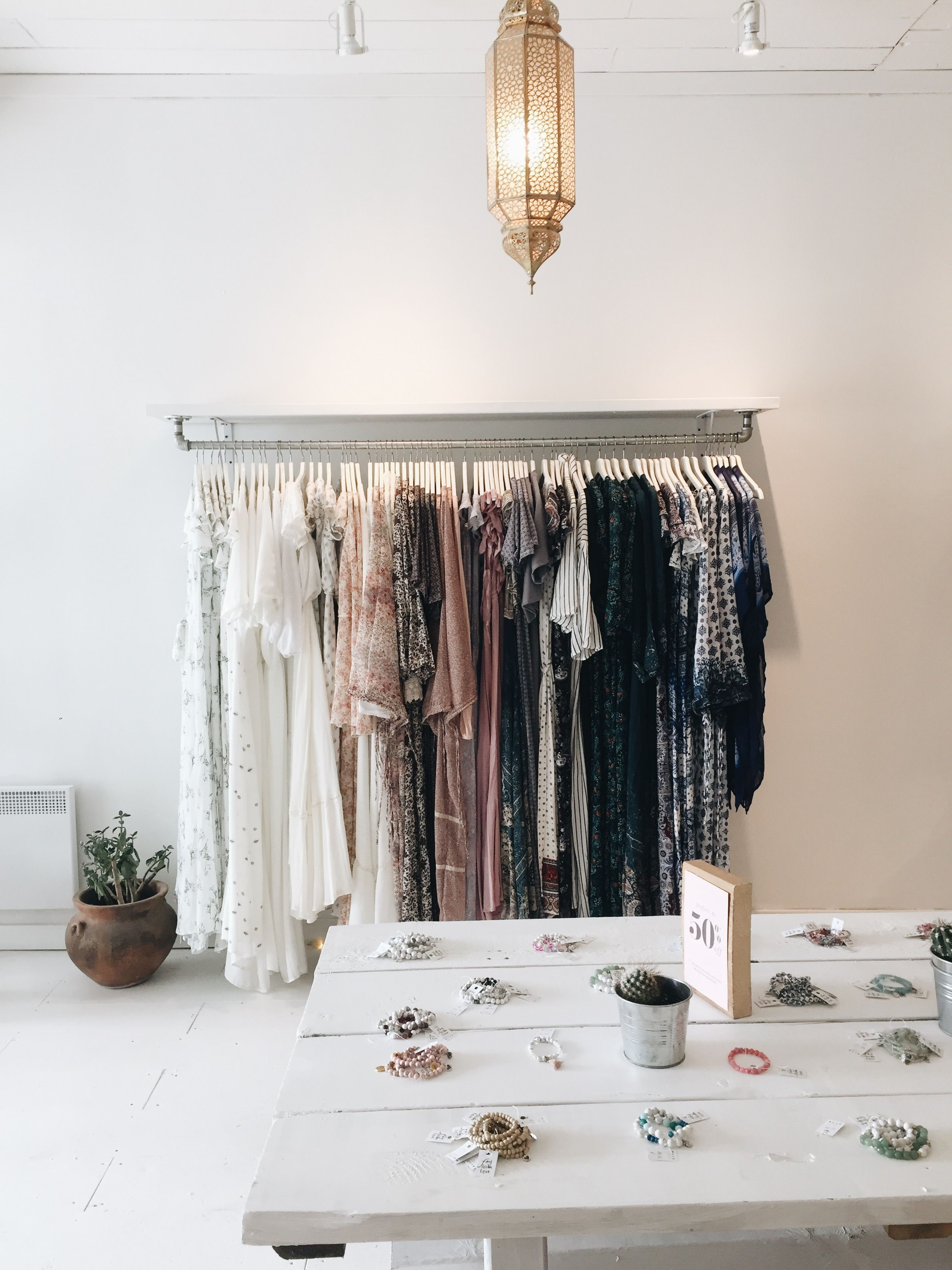 ef778a151d7 Store display. Boho store. Bohemian boutique Boho Clothing Stores
