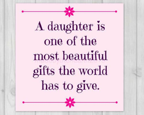 Baby Girl Daughter Quotes: Im Having A Baby Girl Quotes - DesignCarrot.co