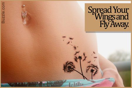 What does a dandelion tattoo really symbolize freedom we and the o 39 jays - Flowers that mean freedom ...