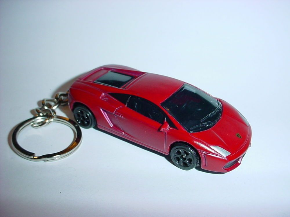 3d Lamborghini Gallardo Custom Keychain Key Chain Keyring Backpack