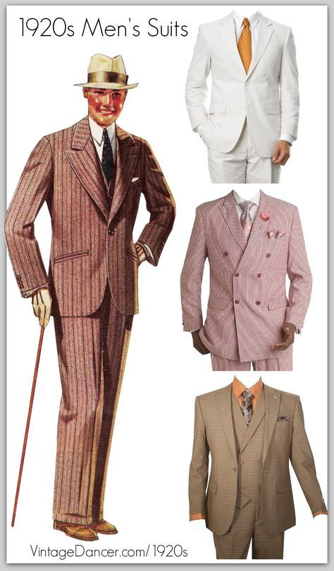 1920s Mens Suits | Gatsby, Gangster, Peaky Blinders
