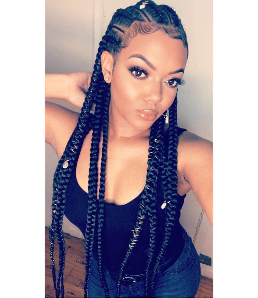 instagram ti.nyyyy crown braid