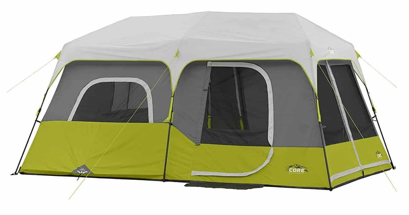 CORE 9 Person Instant Cabin Tent · Family C&ingBest ...  sc 1 st  Pinterest & CORE 9 Person Instant Cabin Tent | Top 10 Best Family Tents in ...