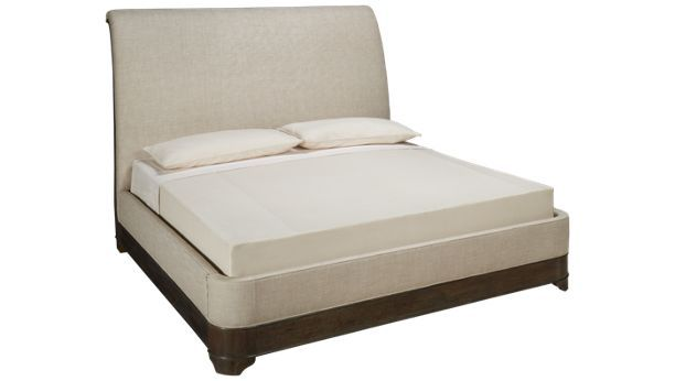 A.R.T. Furniture-St Germain-St Germain King Upholstered Sleigh Bed - Jordan's Furniture