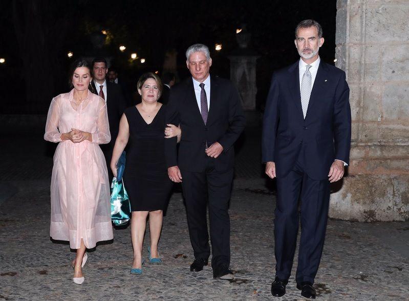 FELIPE AND LETIZIA OF SPAIN - ROYAL VISIT CUBA - DAY 2 #visitcuba